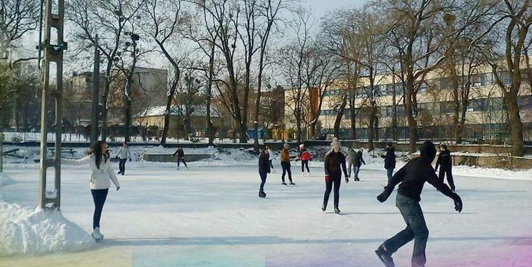 Jégpálya nyílt Gödöllő belvárosában