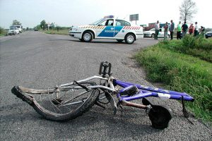 Kerékpárral közlekedve
