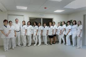 Az ápolókat ünneplik a hatvani kórházban.