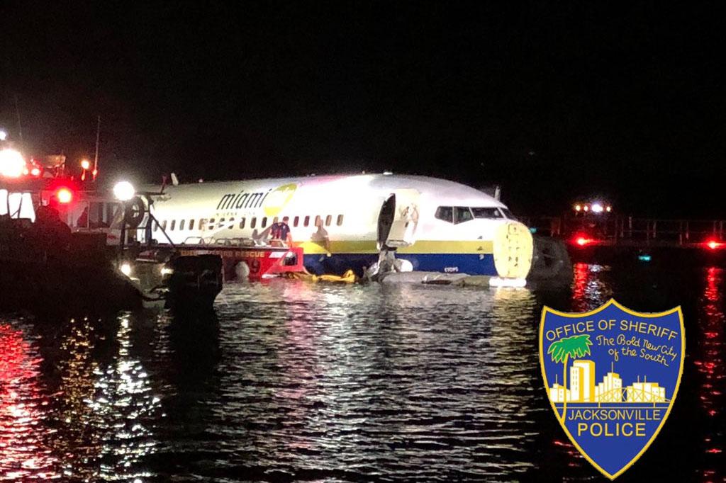 Folyóban landolt egy Boeing Miamiban