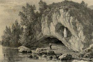Lourdes-i barlang története