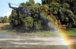 Kutató helikopterek Gyöngyös felett