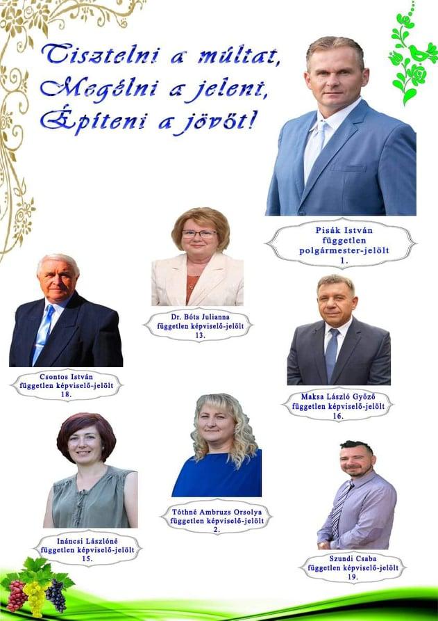Jelöltek Ecséden