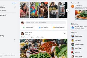 Új dizájnnal csábít a Facebook