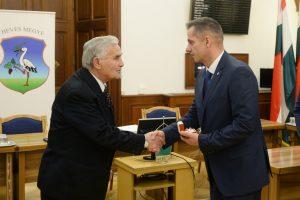 Emlékgyűrű Varga Antal Lőrinci volt polgármesterének