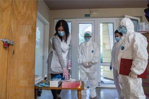 Ellenőrzés a rózsaszentmártoni Őszirózsa Gondozási Központban