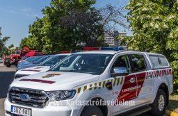 Új tűzoltó gépjárművek Heves megyében